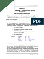 DIRECTIVAS DEL LENGUAJE ENSAMBLADOR