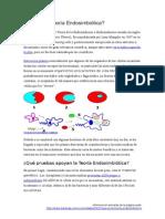 Qué Es La Teoría Endosimbiótica