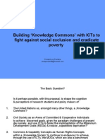 Building 'Knowledge Commons' With ICTs to Fight