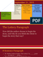 lottery paragraph
