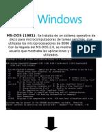 Linea Del Tiempo Windows