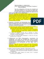 Exercícios Direito Penal II (Com Respostas)