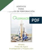 ADITIVOS PARA FLUIDOS de PERFORACIÓN - Minería, Pozos de Agua e Investigación y Prospección