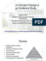 Stockport Climate Change & Energy Evidence Study