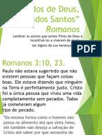 Aula 36 Amados de Deus, Chamados Santos