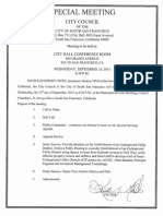 September 16, 2015 Study Session for the Joint Powers Authority Governing Oyster Point Marina