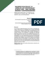 """DISCURSOS OCULTOS DE """"LA GUERRA DE LOS CONVENTILLOS"""" EN PASTO (1835 – 1840)"""