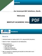InvensysCAD Solutions _Bentley Acadmic Program