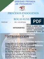 Procesos Endogeno y Rocas Igneas - 2