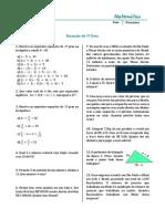 Equações e Sistemas