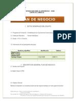 Plan de Negocio Migliore (1)