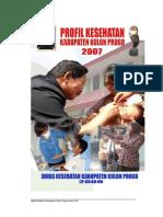Profil Kesehatan 2007