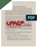 Definición integrada de Plataforma Educativa