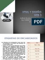 HTML y Diseño Web 3