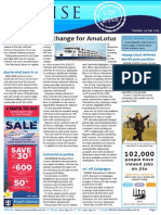 Cruise Weekly for Tue 29 Sep 2015 - AmaLotus refresh, RCI shore site, Uniworld incentive, PAMPERSANDO, Silversea and much more