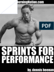 Sprints for Performance