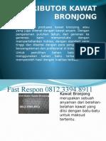 Agen Kawat Bronjong, Jual Kawat Bronjong Pabrikasi,  Jual Kawat Bronjong Palembang, Fast Respon 0812.3394.8911