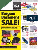 Altronics Oct-Nov Bargain Basement Sale Flyer