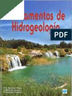 Fundamentos de Hidrogeología - Martinez-Alfaro