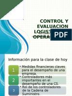 Control y Evaluacion Logistica de Operaciones