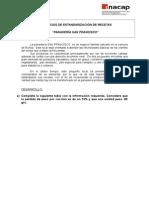 Ejercicios de Estandarización de Recetas.