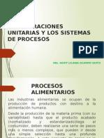 Las Operaciones Unitarias y Los Sistemas de Procesos (1)