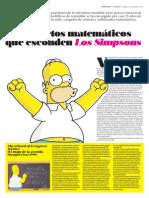 Secretos Matematicos Los Simpsons