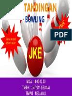Poster Bowling Jke