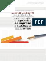 Evaluacion Diagnostica Para Bachillerato