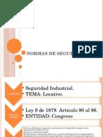 Normas de Seguridad Locativas y Mecanicas [Autoguardado]
