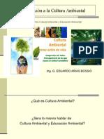 Clase 1 Intorduccion Al Curso de Cultura Ambiental
