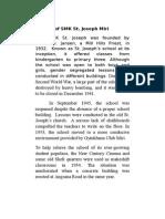 History of SMK St. Joseph Miri