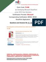 [FREE]Braindump2go 70-488 Study Guide Download 91-100