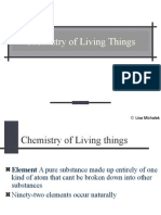Chemistry of Living Things Powerpoint