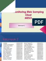 Monitoring Efek Samping Obat