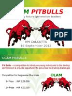 Pit Bulls 2015 Presentation