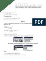 Interés Compuesto con la Calculadora fx 9860 GII