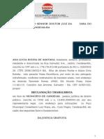 Ana Lucia Rocha de Santana - Fgts