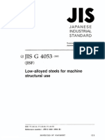 JIS G4053-2003 Low-Alloyed Steels for Machine Structural Use(英文版)