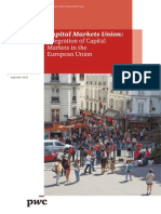 PwC Capital Markets Union Integration
