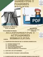 PRESENTACION ACTUADORES HIDRAULICOS.