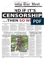 The Daily Tar Heel for Sept. 29, 2015