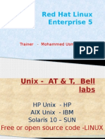 Red Hat Linux Enterprise 5