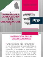 motivacionyliderazgoenlasorganizaciones-131209113154-phpapp01