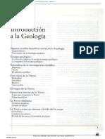 Introduccion a La Geologia . Tarbuck