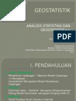 Contoh presentasi Geostatistik