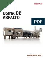 Usina Asfalto Magnum120