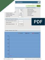 Simple Interest Loan Calculator