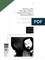 Interfaces Entre Psicologia e Direito Desafios Da Atuação Na Defensoria Pública