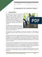 Cambios Volumétricos Del Concreto Informe
